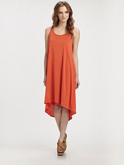Eileen Fisher - Scoopneck Slip Dress