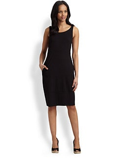 Eileen Fisher - Cutout-Back Dress