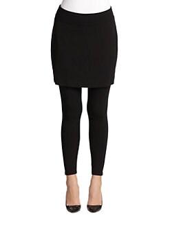 Eileen Fisher - Jersey Skirted Leggings