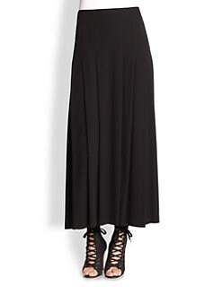 Eileen Fisher - Silk Pleated Maxi Skirt