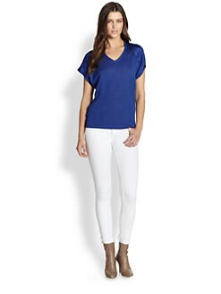 Eileen Fisher - Linen/Silk Boxy Top