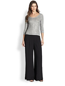 Eileen Fisher - Shimmer Knit Top