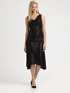 Eileen Fisher - Sequin/Silk Dress