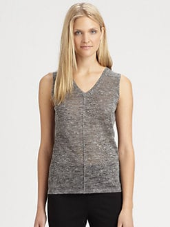 Eileen Fisher - V-Neck Tank Top