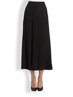 Eileen Fisher - Silk Georgette Skirt