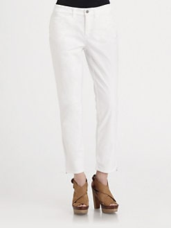 Eileen Fisher - Zipper Ankle Pants