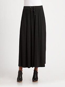 Eileen Fisher - Drawstring Maxi Skirt