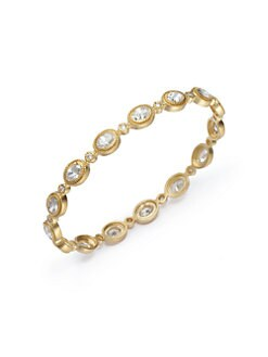 Belargo - Faceted Bezel Station Bangle