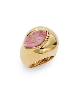 Kara Ross - Abstract Druzy Ring