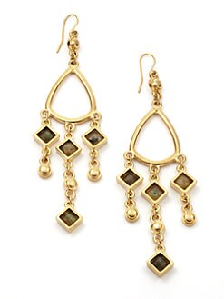 Kara Ross - Labradorite Chandelier Earrings
