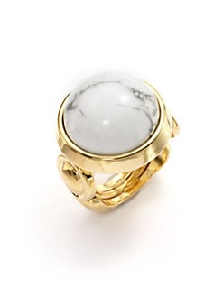 Kara Ross - Jasper Dome Cabochon Ring