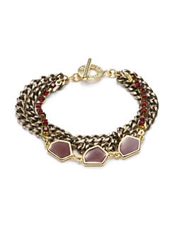 Janna Conner - Crystal & Enamel Bracelet