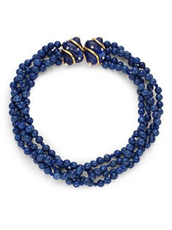 Kenneth Jay Lane - Swarovski Crystal Shell Beaded Necklace