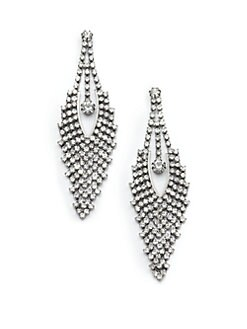Leslie Danzis - Crystal Statement Earrings