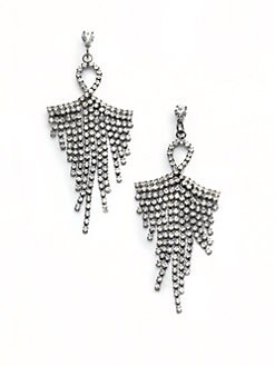 Leslie Danzis - Crystal Chandelier Earrings