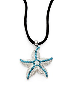 Giorgio Martello - Turquoise Starfish Pendant Necklace