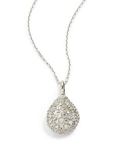 Giorgio Martello - Cubic Zirconia Teardrop Necklace