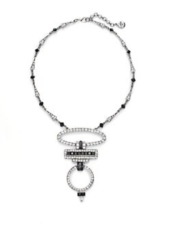 Ben Amun - Deco Open Circle Pendant Necklace
