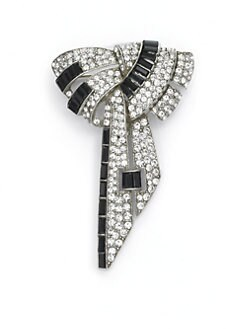 Ben Amun - Deco Bow Brooch