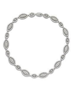 Adriana Orsini - Framed Marquis Necklace