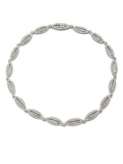 Adriana Orsini - Open Oval & Circle Necklace