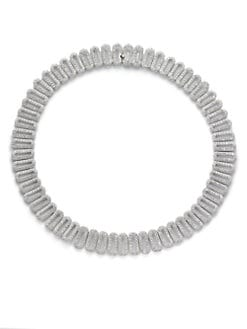 Adriana Orsini - Open Oval Necklace