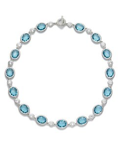 Adriana Orsini - Oval & Circle Necklace