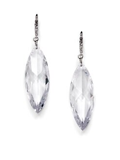 CZ by Kenneth Jay Lane - Marquis Drop Earrings