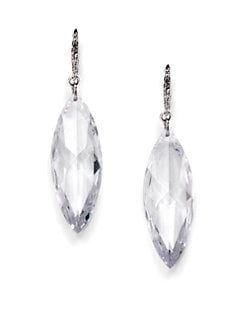 CZ by Kenneth Jay Lane - Marquis Crystal Earrings