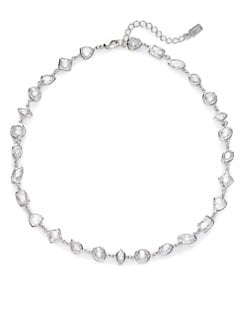 CZ by Kenneth Jay Lane - Petite Geometric Necklace