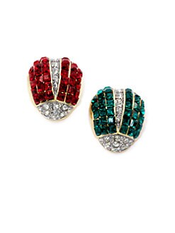 Kenneth Jay Lane - Two-Tone Ladybug Pin Set
