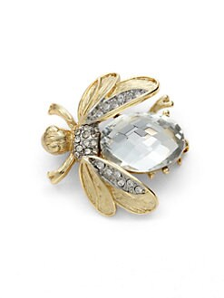 Kenneth Jay Lane - Crystal Bee Pin