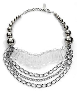MaxMara - Ball & Oval Necklace