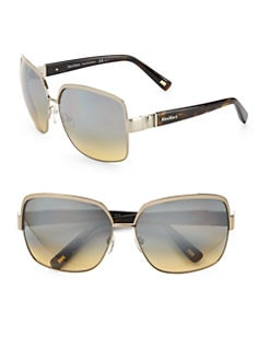 MaxMara - Square Metal Sunglasses
