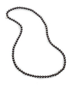 Majorica - 8MM Round Pearl Necklace/32