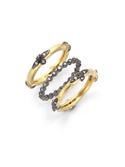 Belargo - Petal Stackable Ring Set