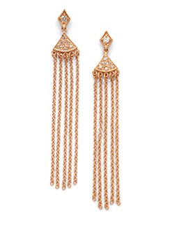 Belargo - Long Fringe Earrings
