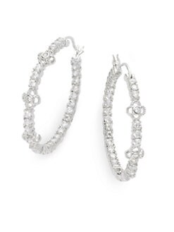 Belargo - Clover Station Hoop Earrings