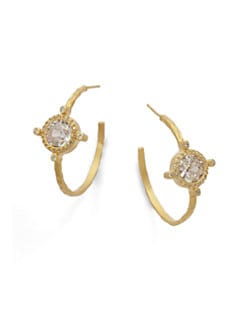 Belargo - Crown Station Hoop Earrings