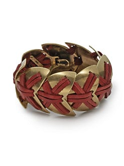Giles & Brother - Nara Armor Bracelet/Gold