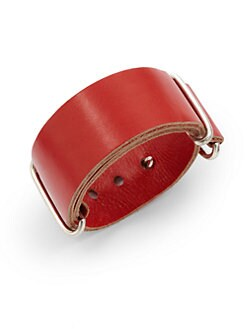 Giles & Brother - Wide Leather Visor Cuff