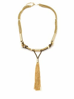 A.V. MAX - Long Tassel Necklace