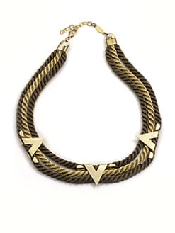 A.V. MAX - Multi-Cord Point Necklace