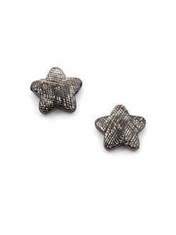 Tuleste Market - Textured Star Stud Earrings