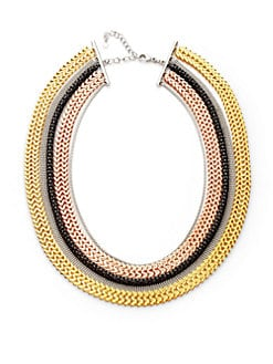 Tuleste Market - Multi-Chain Necklace/Multi-Tone