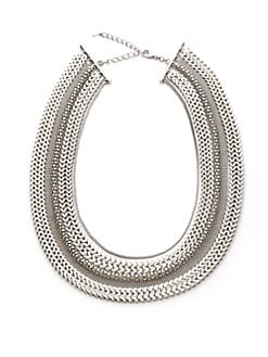 Tuleste Market - Multi-Chain Necklace/Silver