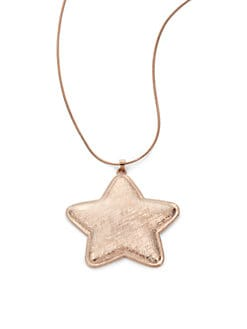 Tuleste Market - Star Pendant Necklace/Rose Gold