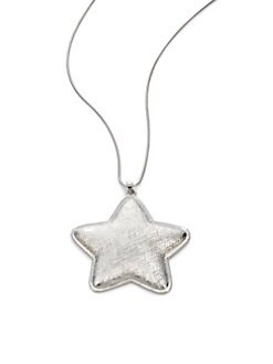 Tuleste Market - Star Pendant Necklace/Silver