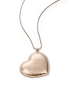 Tuleste Market - Heart Pendant Necklace/Rose Gold