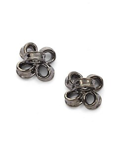 Tuleste Market - Textured Ribbon Stud Earrings